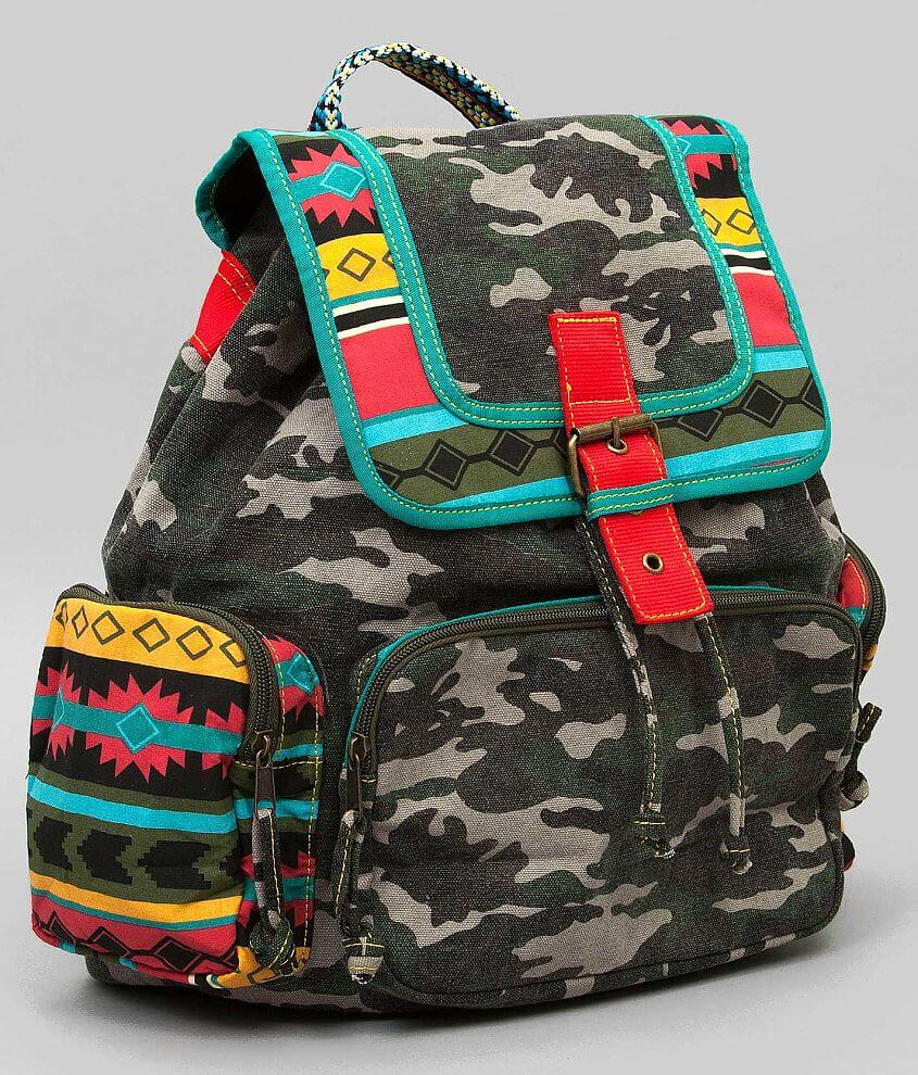 Tigerbear Republik Camo Backpack front view