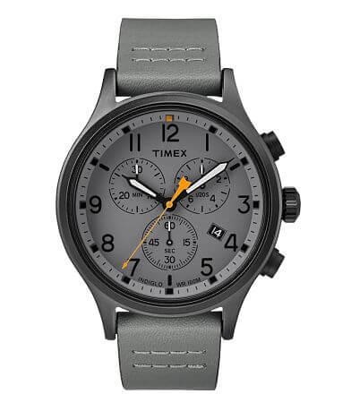 Timex Allied Chronograph Leather Watch