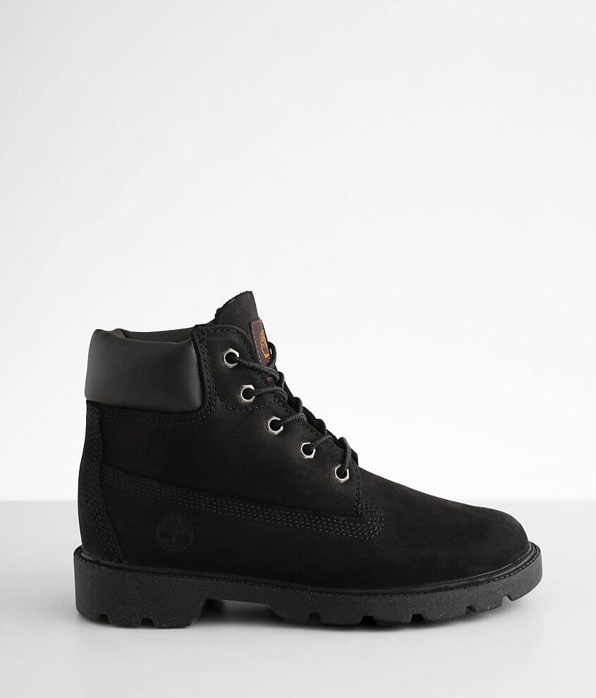 Boys Youth - Timberland Classic Leather Boot front view
