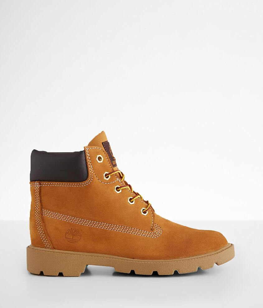 Boys Youth - Timberland Icon Leather Boot front view