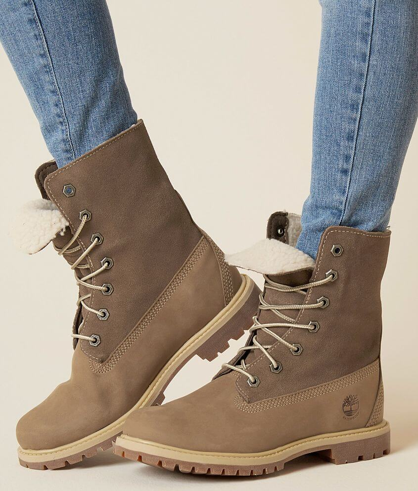 d67942d321f Timberland Teddy Leather Boot - Women's Shoes in Light Brown Nubuck ...