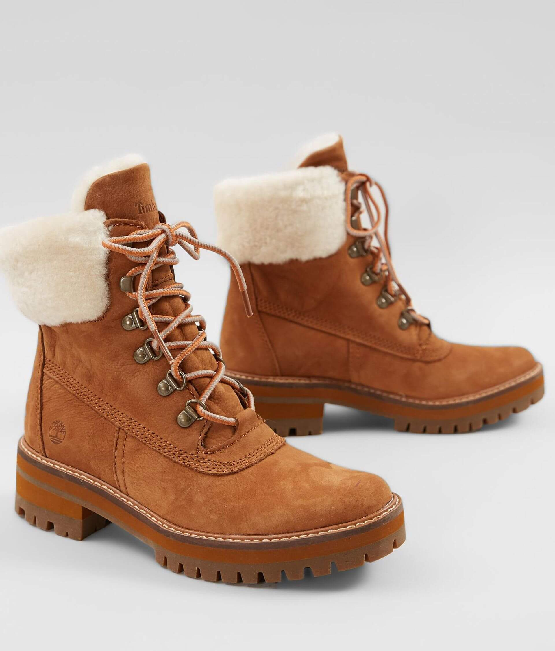 f6f47d93be0 Timberland® Courmayeur Valley Leather Boot - Women's Shoes in Rust ...