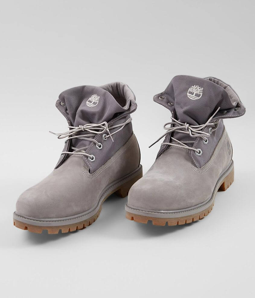 d505bd722fd7 Timberland® Icon Roll-Top Leather Boot - Men s Shoes in Light Grey ...