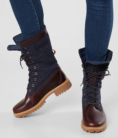 Timberland® Jayne Leather Gaiter Boot