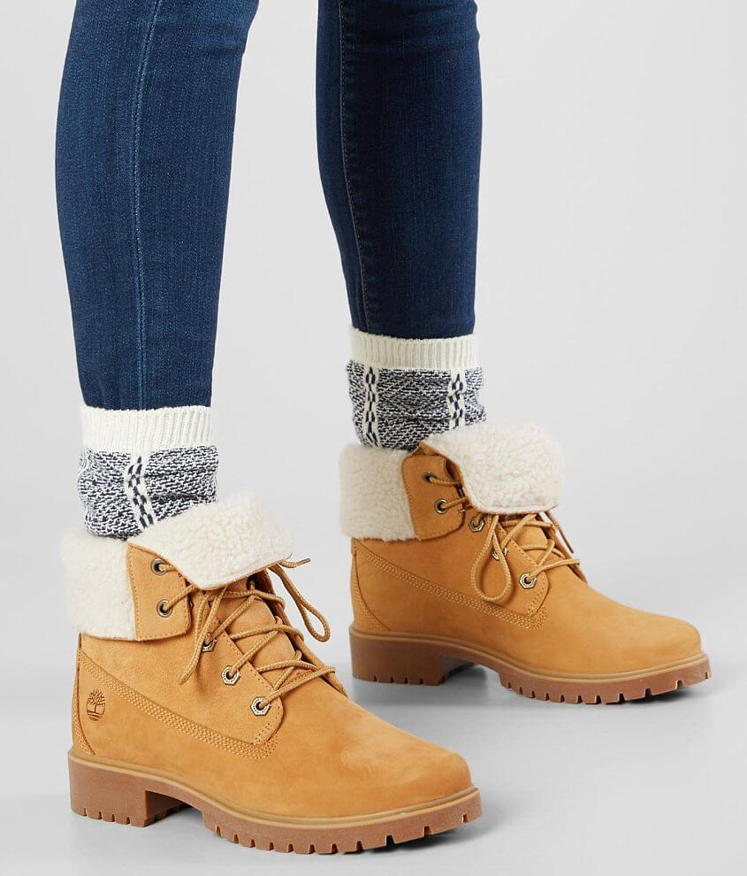 83b389791d7 Timberland® Jayne Waterproof Leather Boot - Women s Shoes in Wheat ...