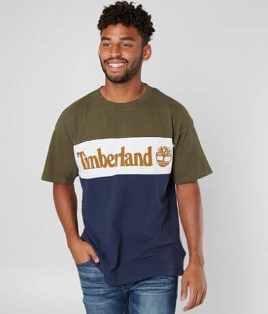 Timberland Oversized Color Block T-Shirt