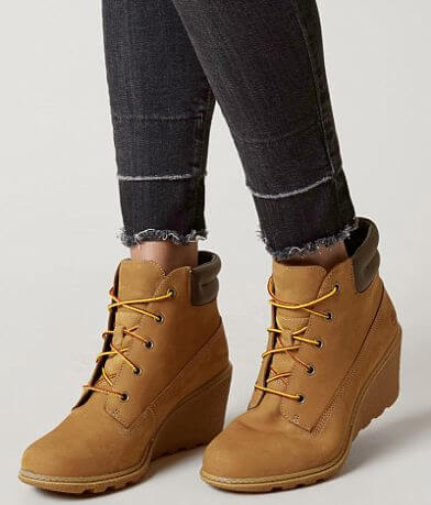 Timberland® Amston Leather Wedge Boot