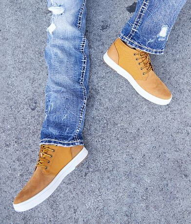 Timberland® Davis Square Leather Sneaker