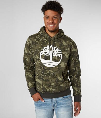 Timberland® Tree Camo Hooded Sweatshirt