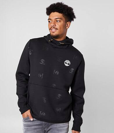 Timberland® Monogram Logo Hooded Sweatshirt