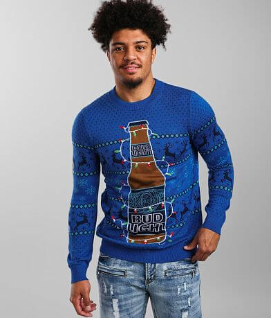 tipsyelves Bud Light® Light-Up Sweater