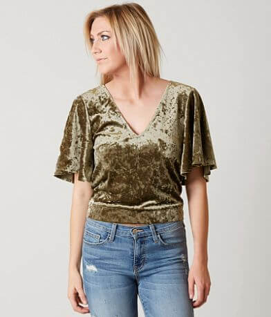 Willow & Root Velvet Top