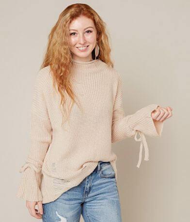 Timing Shredded Sweater