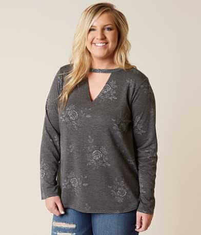 Misia Floral Top - Plus Size Only