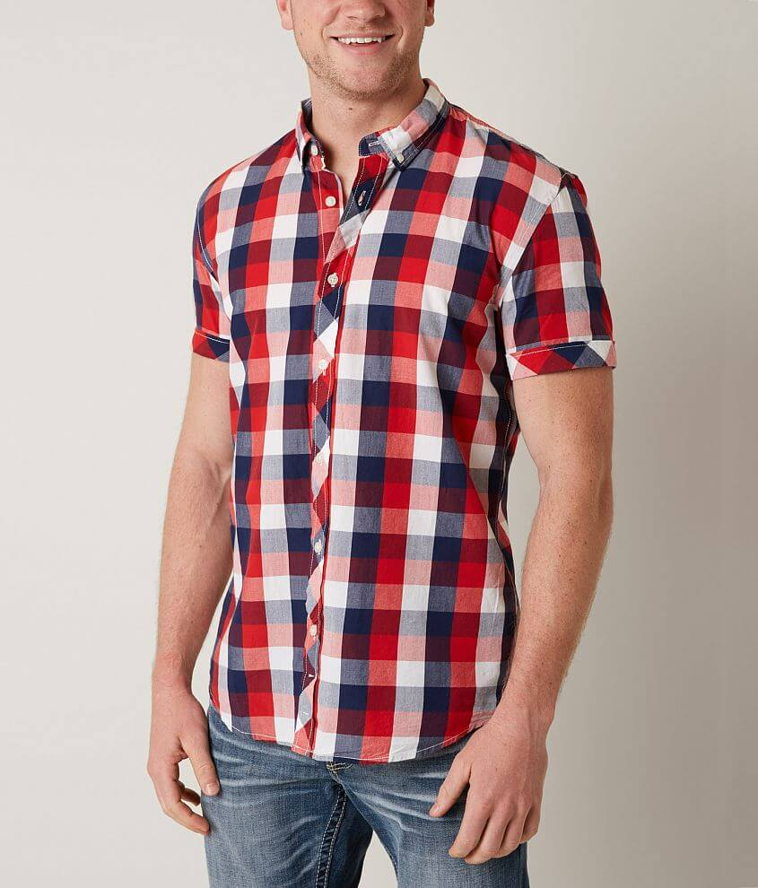 Tom Tailor Check Shirt front view