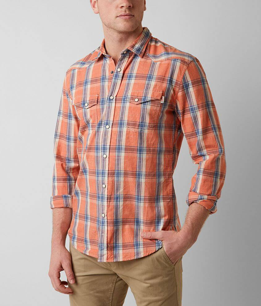 Tom Tailor Plaid Shirt front view