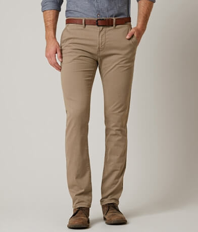 Tom Tailor Skinny Chino Stretch Pant With Belt