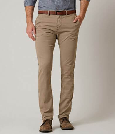 Tom Tailor Skinny Stretch Chino Pant With Belt