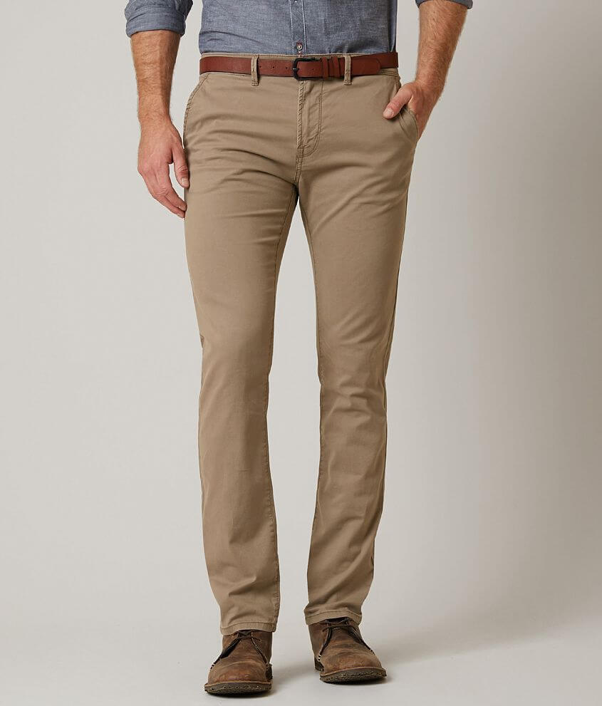 bd5748474e4 Tom Tailor Skinny Stretch Chino Pant With Belt - Men s Pants in ...