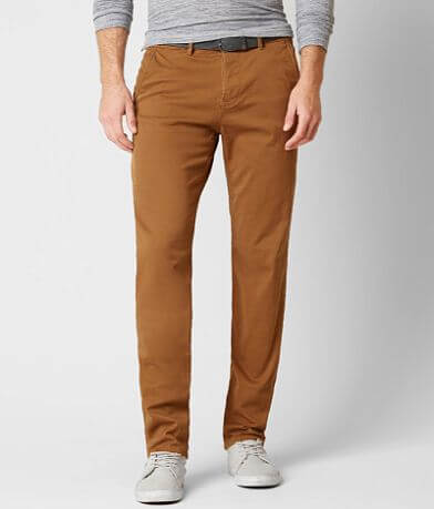 Tom Tailor Stretch Chino Pant With Belt