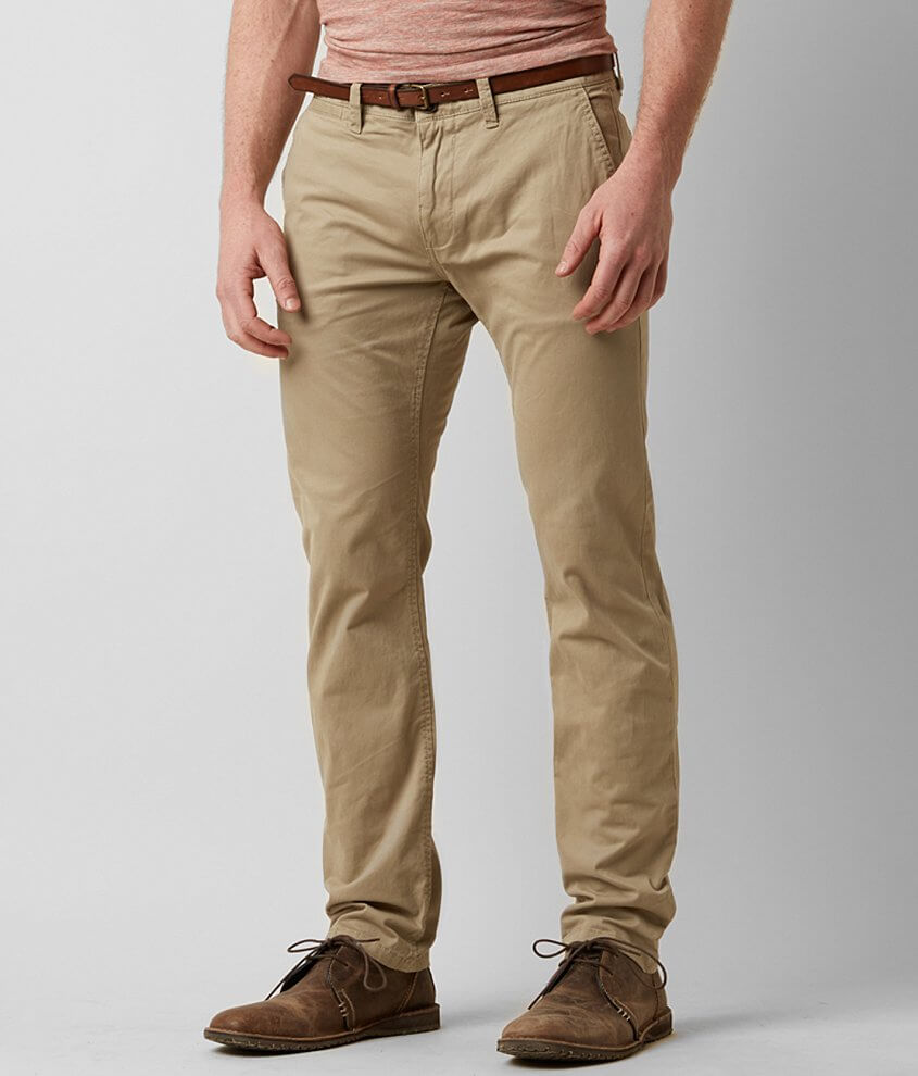 Tom Tailor Travis Chino Pant With Belt front view