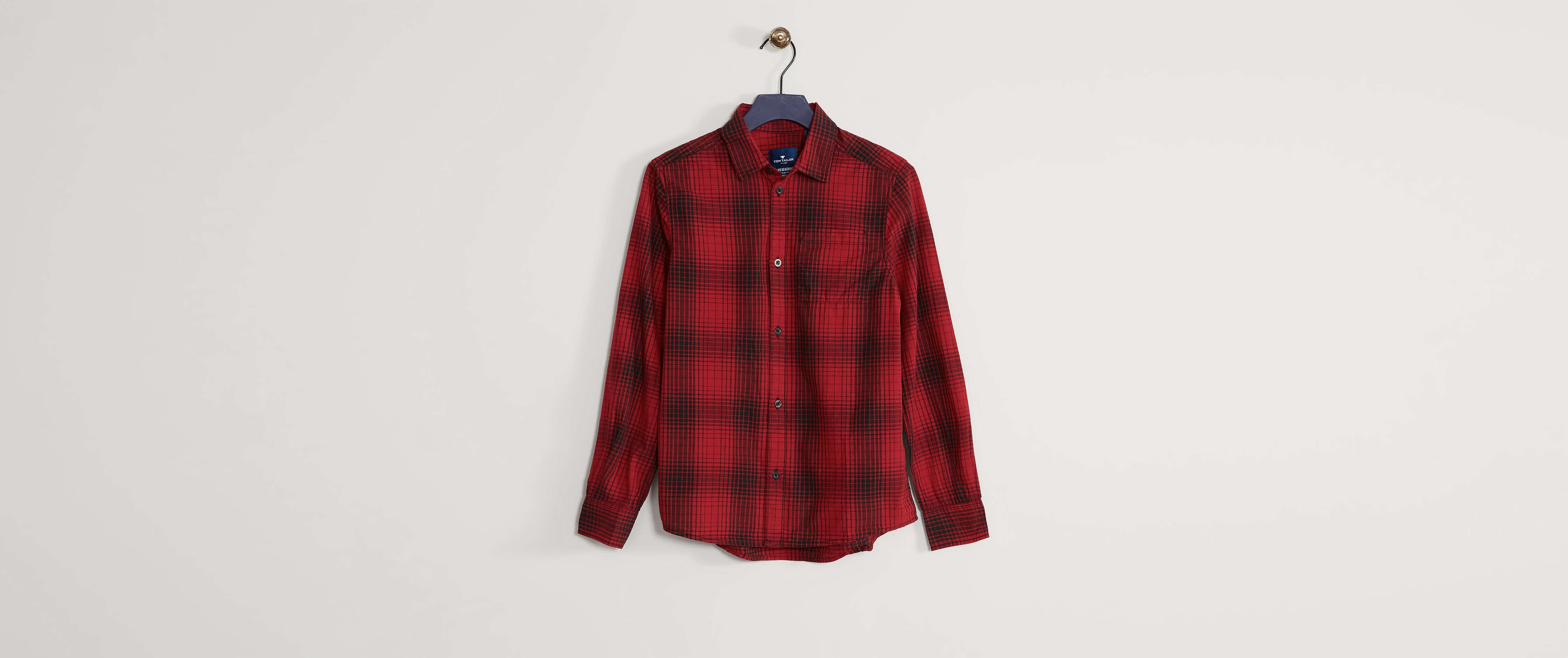 sleek great prices best shoes Boys - Tom Tailor Plaid Shirt [6XuXh0708362] - $42.99