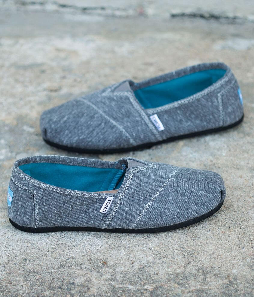TOMS Marled Jersey Shoe front view