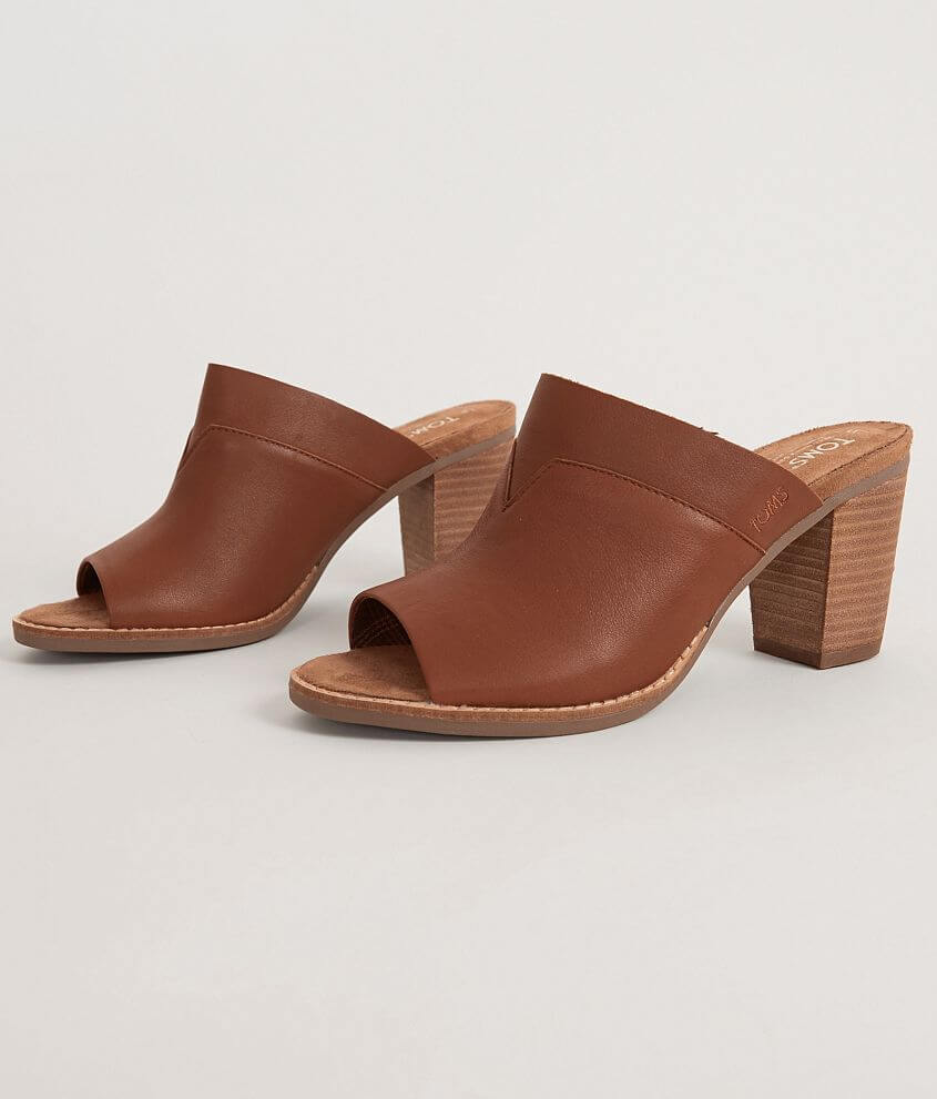 4a1481f7bfc TOMS Majorca Mule Sandal - Women s Shoes in Cognac Leather