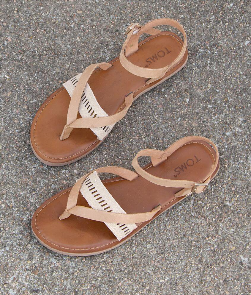 e278fc007bd TOMS Lexie Sandal - Women s Shoes in Sandstrom Leather Metalli