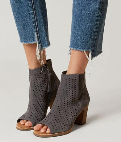 TOMS Majorca Leather Heeled Sandal