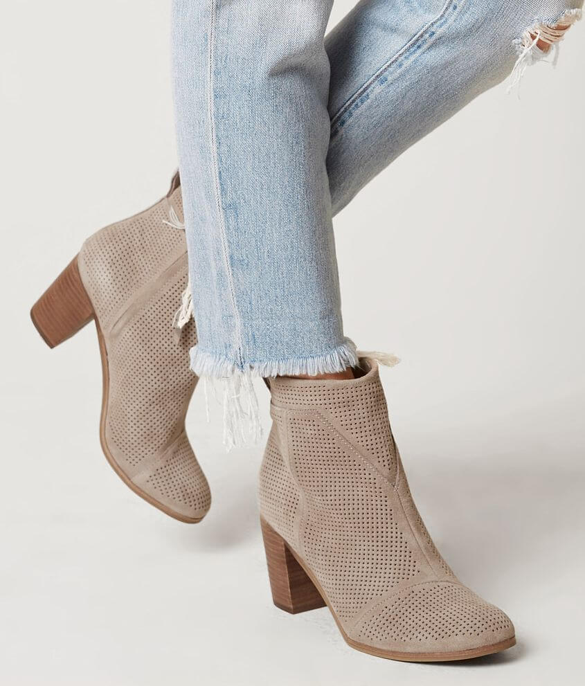 Luna Suede Leather Taupe | Cropped skinny jeans, Suede