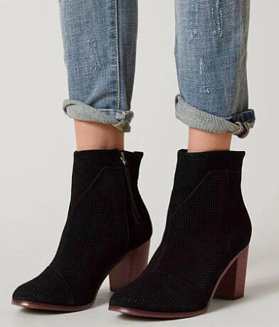 TOMS Lunata Leather Ankle Boot