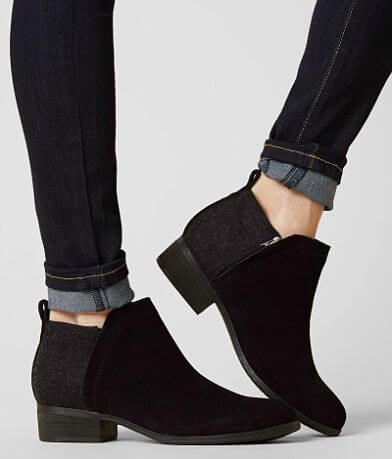 TOMS Deia Leather Ankle Boot