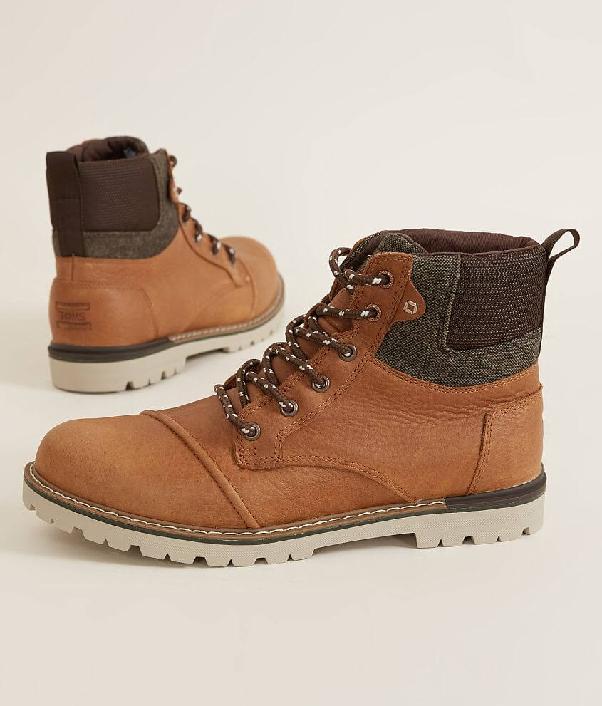 da27cd433d8 TOMS Ashland Leather Boot - Men s Shoes in Dark Toffee