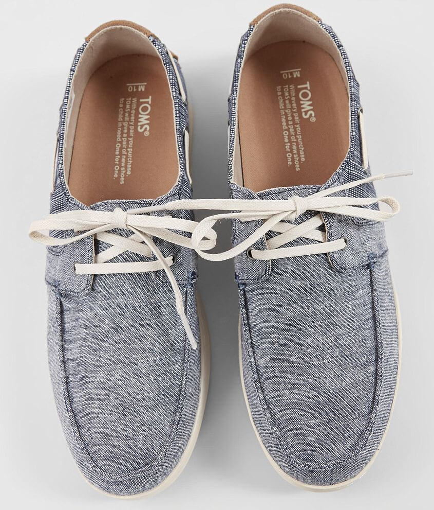 e6b726d77cc TOMS Culver Shoe - Men's Shoes in Navy Chambray Mix | Buckle