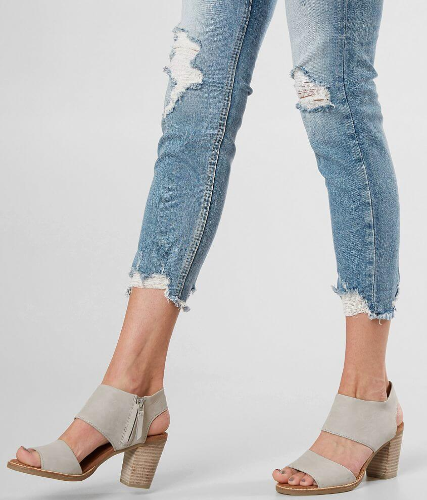 a29af992e6e TOMS Majorca Leather Heeled Sandal - Women s Shoes in Drizzle Grey ...
