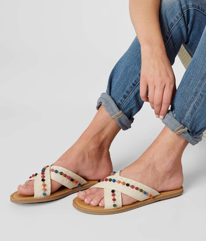 08f7feee2e4 TOMS Viv Sandal - Women s Shoes in Natural Hemp Pom Poms