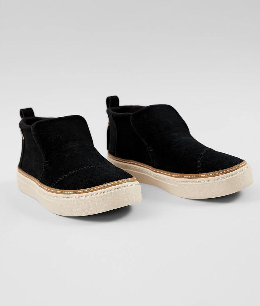 03f9fb65128 TOMS Paxton Leather Shoe - Women s Shoes in Black Suede
