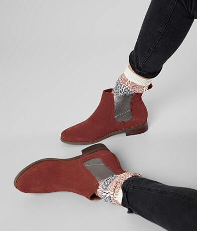 TOMS Ella Suede Ankle Chelsea Boot
