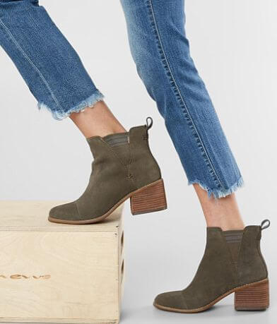 TOMS Esme Leather Ankle Boot