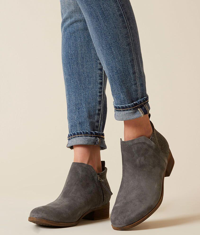 6ccce0ae03b TOMS Deia Leather Ankle Boot - Women s Shoes in Castlerock Grey ...