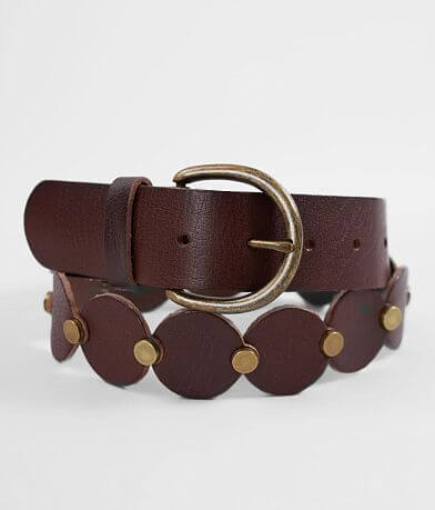 Indie Spirit Designs Linked Circle Leather Belt