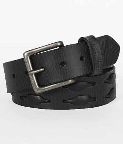 Buckle Black Weave Belt