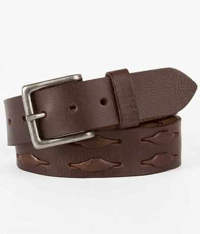 Buckle Black Weave Belt