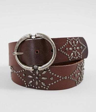 Indie Spirit Designs Studded Leather Belt