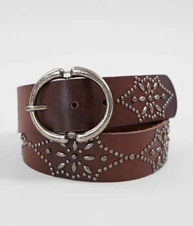 Indie Spirit Designs Studded Leather Belt