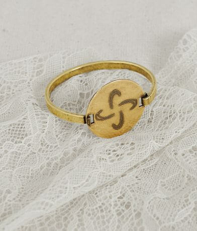 Quinn & Copper Symbol Flip Top Bracelet