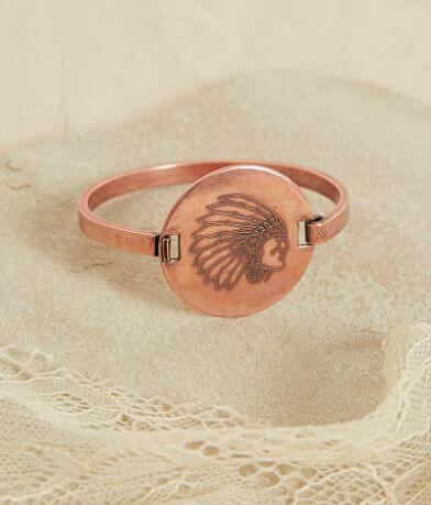 Quinn & Copper Warrior Flip Top Bracelet