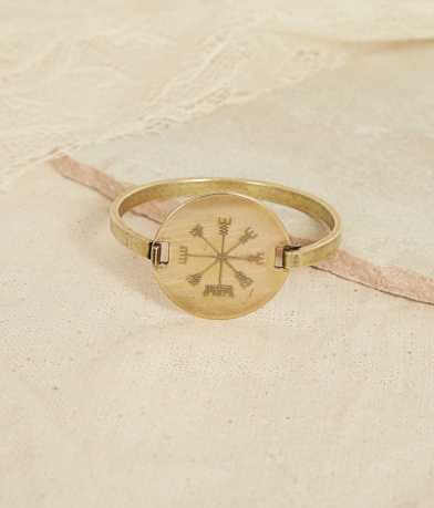 Quinn & Copper Compass Flip Top Bracelet