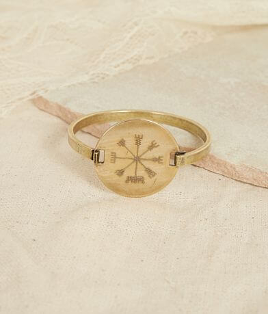 Quinn & Copper Compass Flip Top Bracelet
